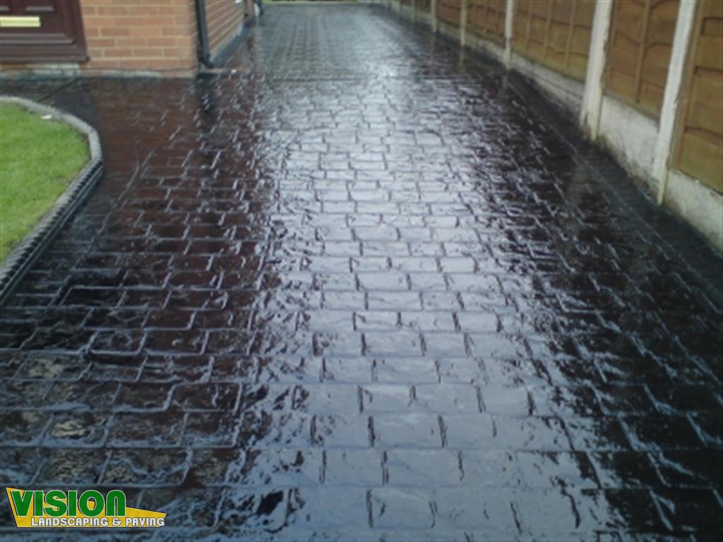 Imprint Concrete Dublin  Vision Landscaping and Paving
