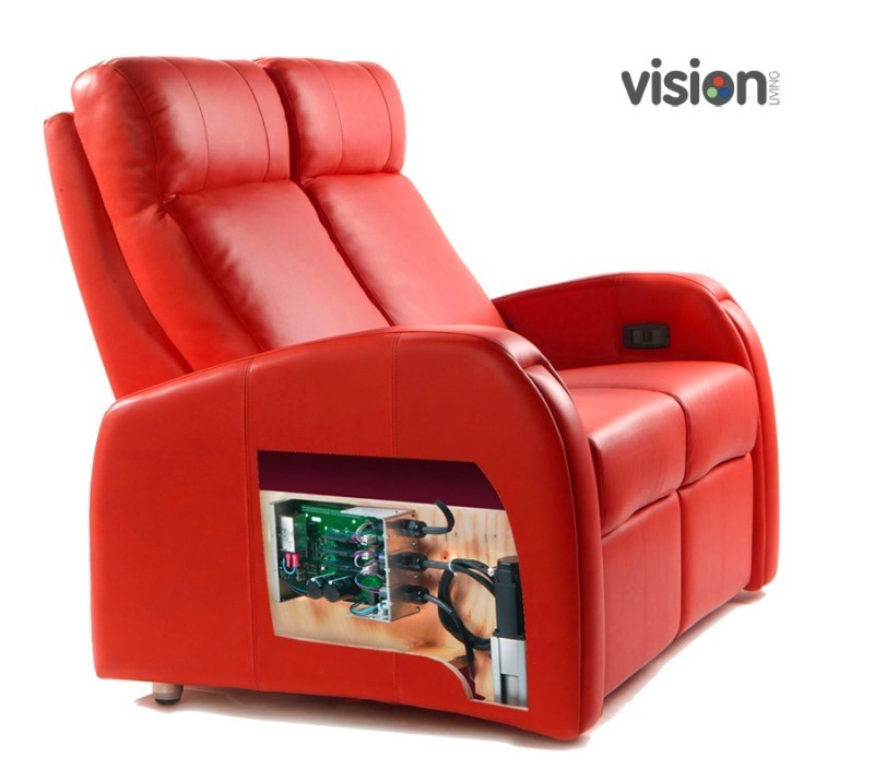 DBOX  Love Chair 4 Actuators  Furniture at Vision Living