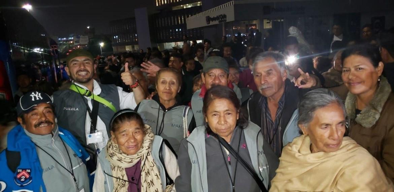 """REÚNE """"RAÍCES DE PUEBLA"""" A 91 ADULTOS MAYORES CON SUS FAMILIARES EN NUEVA YORK"""