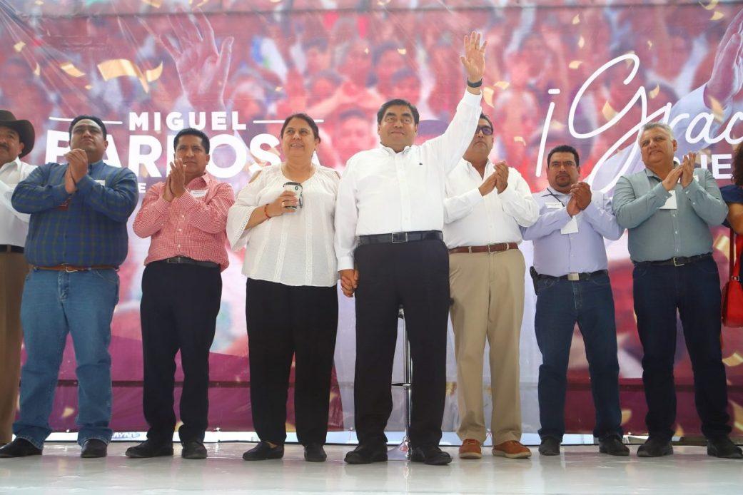 HABRÁ UNA GRAN TRANSFORMACIÓN DEL  PODER PÚBLICO: MIGUEL BARBOSA