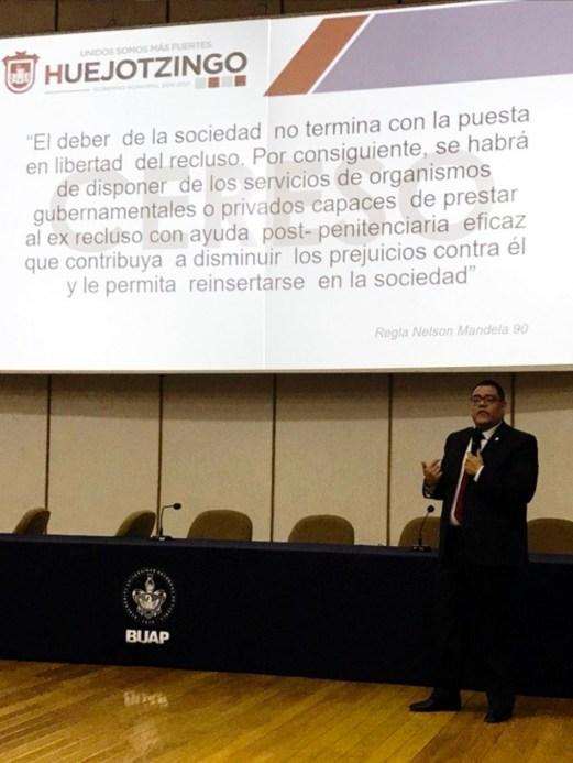 PARTICIPA HUEJOTZINGO EN LA SEMANA DE CRIMINOLOGÍA DE LA BUAP