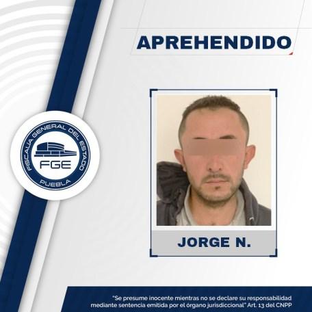 LAS FISCALÍAS DE PUEBLA Y VERACRUZ APREHENDEN A PRESUNTO HOMICIDA DE AGNES
