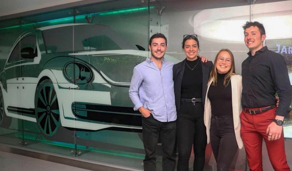 ESTUDIANTES DE LA UDLAP GANARON EL VW CHALLENGE