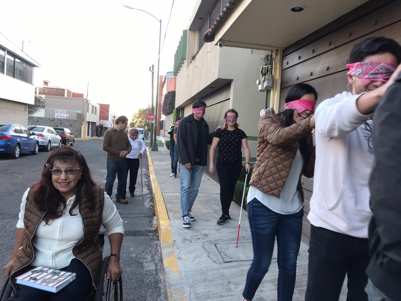 REALIZA SECRETARÍA DE ATENCIÓN A PERSONAS CON DISCAPACIDAD CONCIENTIZACIÓN CIUDADANA
