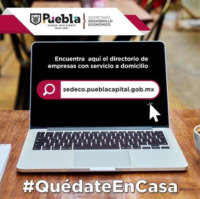 PUEBLA CAPITAL FOMENTA EL CONSUMO LOCAL DESDE CASA