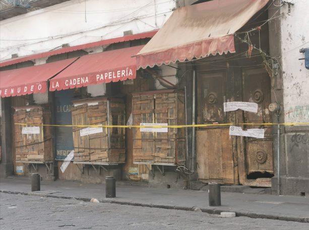 FUERON DETENIDAS CUATRO PERSONAS EN CATEO DE UN INMUEBLE EN EL CENTRO HISTÓRICO