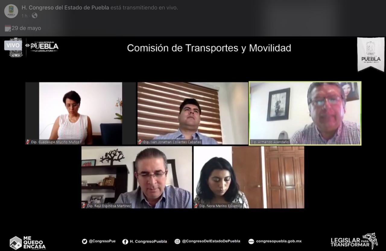 DIPUTADOS APRUEBAN EXHORTO PARA QUE UNIDADES DEL TRANSPORTE PÚBLICO CUMPLAN CON MEDIDAS SANITARIAS POR COVID-19