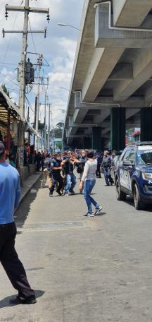 DETIENE POLICÍA MUNICIPAL DE PUEBLA A 5 PERSONAS EN AMALUCAN