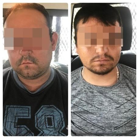 """DETIENE POLICÍA ESTATAL A DOS PRESUNTOS OPERADORES DE """"EL LOCO """" TÉLLEZ"""