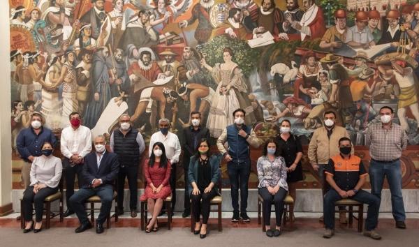 GOBIERNO DE LA CIUDAD ACUERDA TRABAJAR CON CÁMARAS EMPRESARIALES EN LA REACTIVACIÓN ECONÓMICA