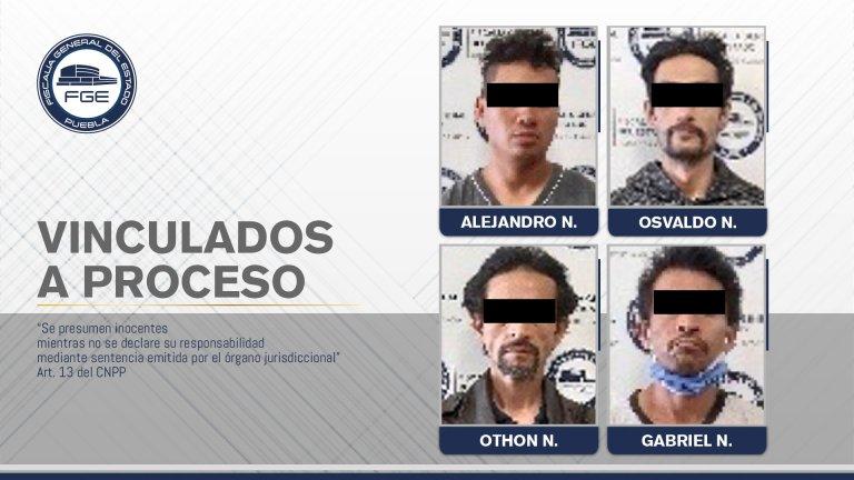 FGE OBTUVO PRISIÓN CONTRA CUATRO NARCOMENUDISTAS DETENIDOS EN CATEO