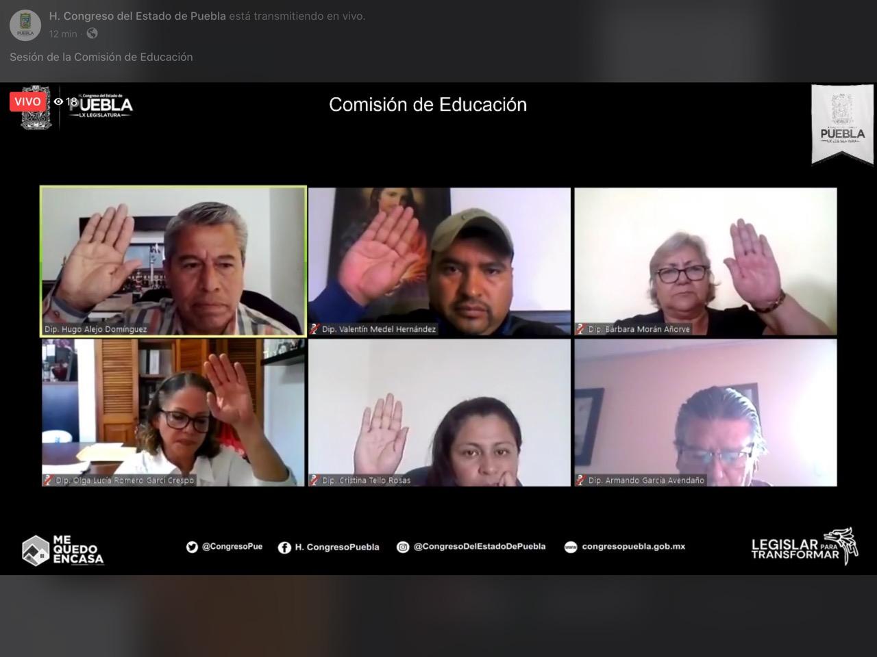 EXHORTAN A INVESTIGADORES DE PUEBLA A SUMAR ESFUERZOS PARA EL COMBATE DEL COVID19
