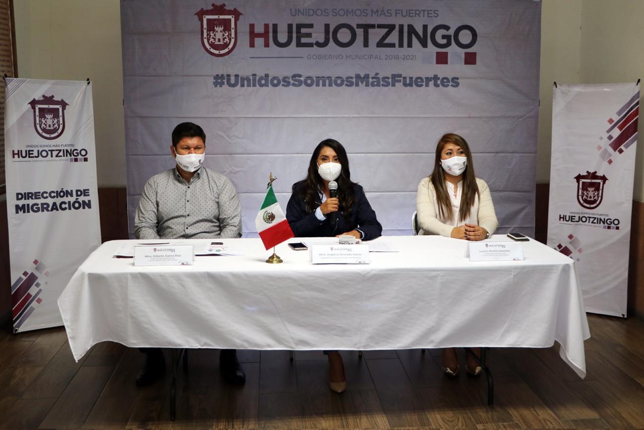 PONE EN MARCHA ANGÉLICA ALVARADO PROGRAMA DE UNIÓN FAMILIAR DE MÉXICO A ESTADOS UNIDOS