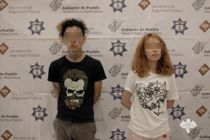 POLICÍA ESTATAL DETIENE A PAREJA DE PRESUNTOS NARCOMENUDISTAS