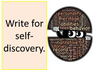 Write for self-discovery