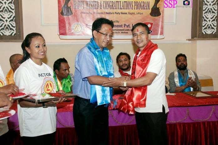 Vetran Dance Director Mr. Bhuwan Shrestha