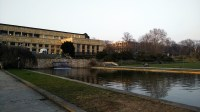 Goethe University campus, Grneburg Park, and Korean