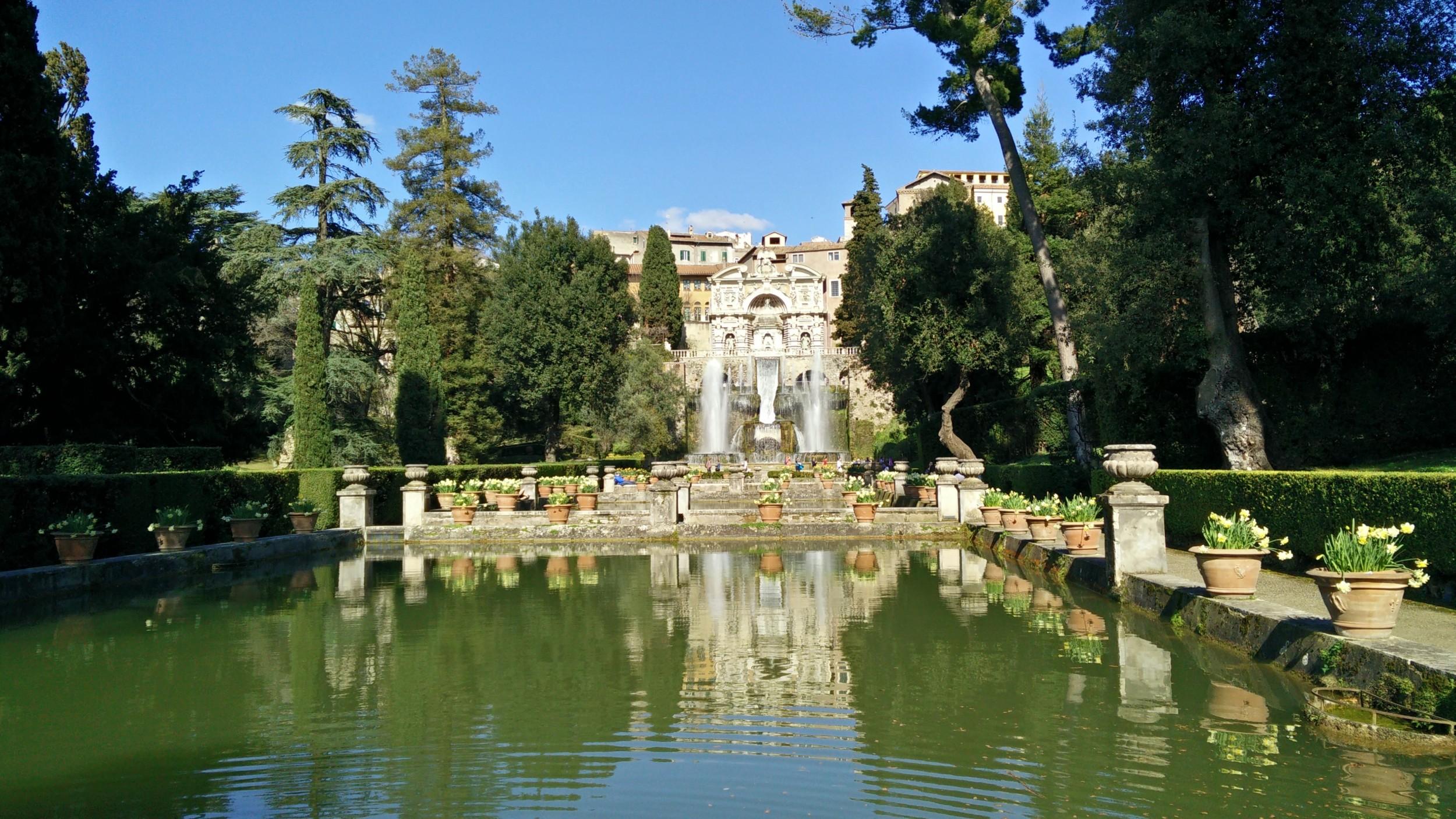 Gardens of Villa dEste  Tivoli  Visions of Travel