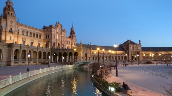 Plaza De Espana & Town Seville Visions Of Travel