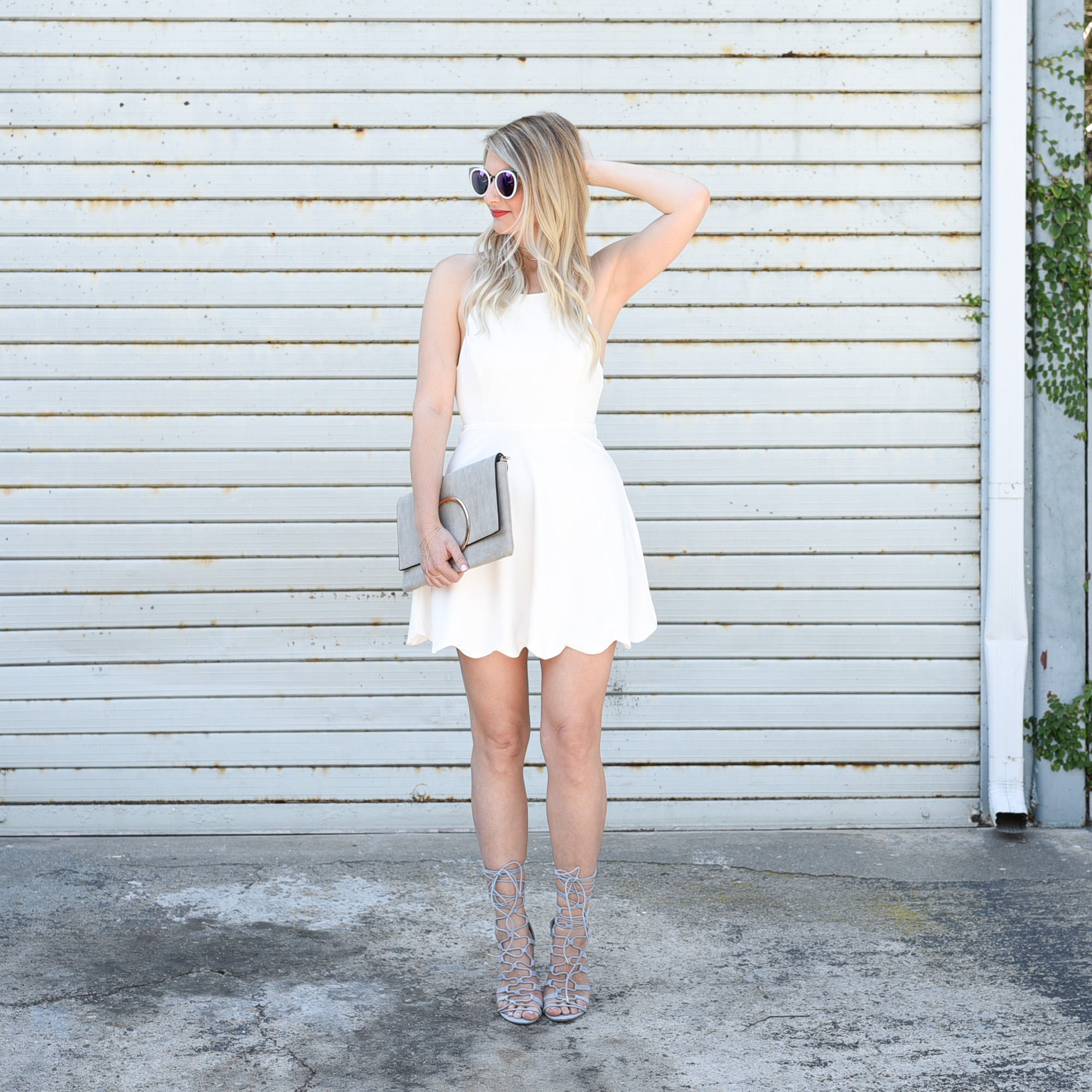 Little White Dresses With Lulus Visions Of Vogue