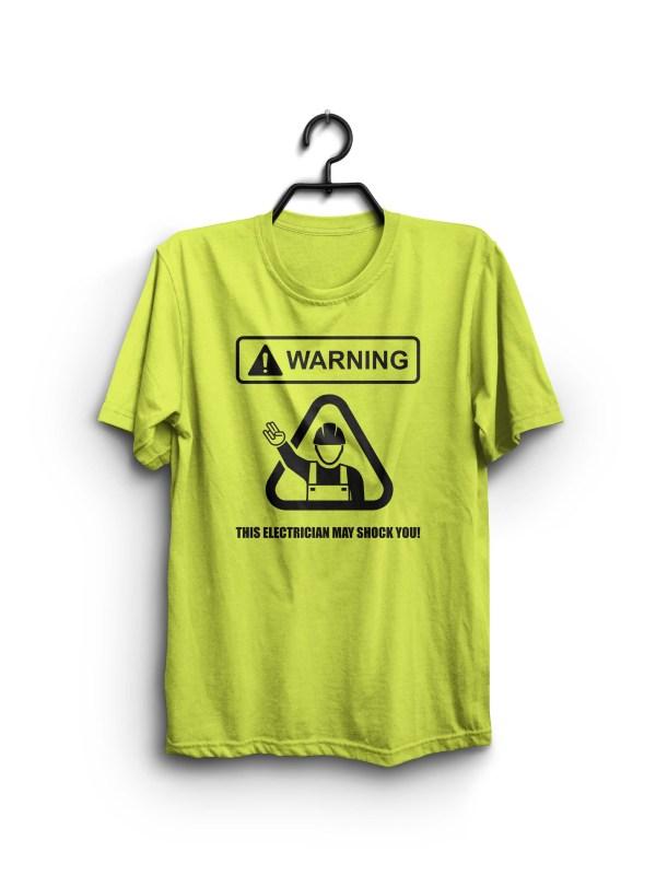 The Shocker electrician shirt