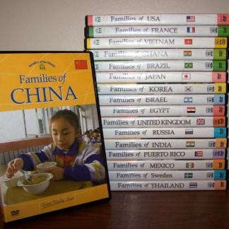 Families of the World DVD's-Families of Canada -0
