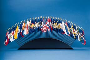 """4x6"""" 50 State Flags Set (Stand sold separately)-0"""