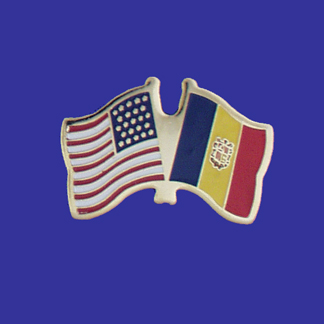 USA+Andorra Friendship Pin-0