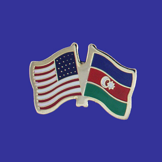 USA+Azerbaijan Friendship Pin-0