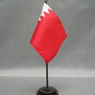 """Bahrain-4"""" x 6"""" Desk Flag-0"""