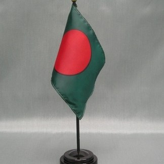 "Bangladesh-4"" x 6"" Desk Flag-0"