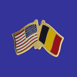USA+Belgium Friendship Pin-0