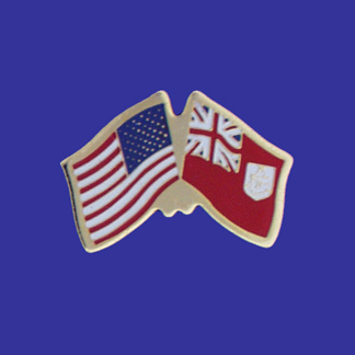 USA+Bermuda Friendship Pin-0