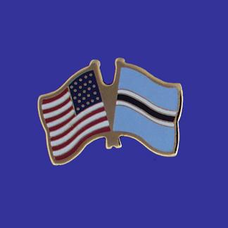 USA+Botswana Friendship Pin-0