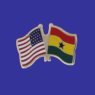 USA+Ghana Friendship Pin-0