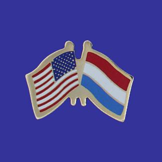USA+Luxembourg Friendship Pin-0