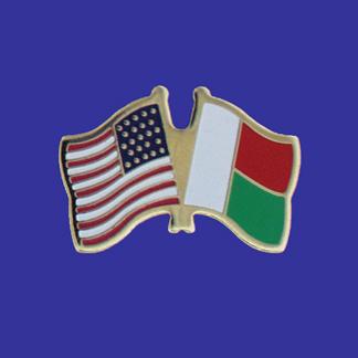 USA+Madagascar Friendship Pin-0