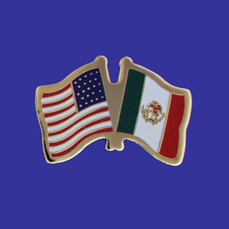 USA+Mexico Friendship Pin-0