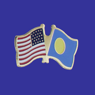 USA+Palau Friendship Pin-0