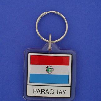 Paraguay Keychain-0