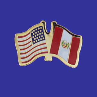 USA+Peru Friendship Pin-0