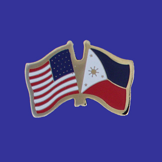 USA+Philippines Friendship Pin-0