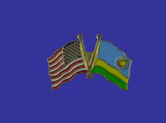 USA+Rwanda Friendship Pin-0