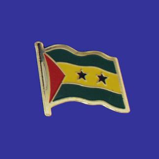 Sao Tome & Principe Lapel Pin-0