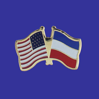 USA+Serbia Friendship Pin-0