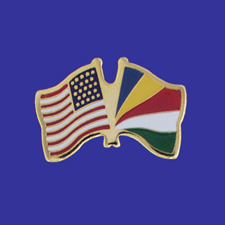 USA+Seychelles Friendship Pin-0