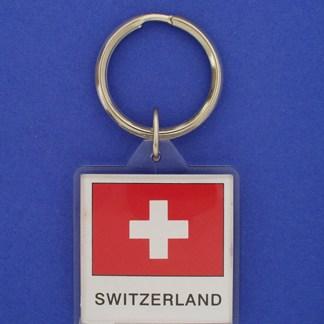 Switzerland Keychain-0