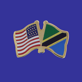 USA+Tanzania Friendship Pin-0