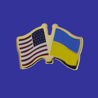 USA+Ukraine Friendship Pin-0