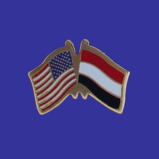 USA+Yemen Friendship Pin-0